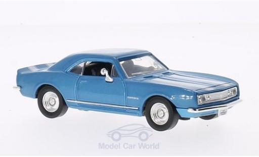 Chevrolet Camaro 1/43 Lucky Die Cast Z-28 mit whiteen Streifen metallise blue 1967 ohne Vitrine diecast model cars