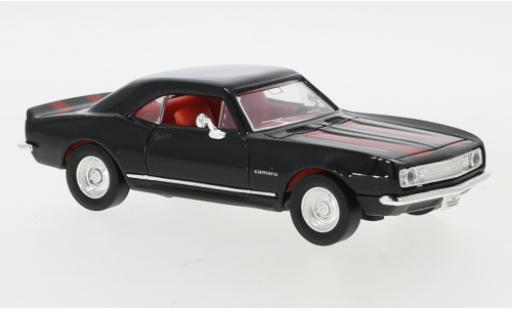Chevrolet Camaro 1/43 Lucky Die Cast Z-28 noire/rouge 1967 miniature