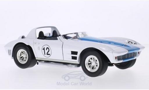 Chevrolet Corvette 1/18 Lucky Die Cast Grand Sport Roadster No.12 1964 miniature
