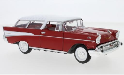 Chevrolet Nomad 1/43 Lucky Die Cast red/white 1957 diecast model cars
