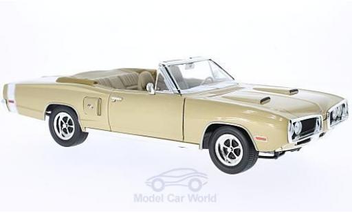 Dodge Coronet 1970 1/18 Lucky Die Cast R/T gold diecast model cars