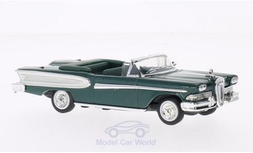 Edsel Citation 1/18 Lucky Die Cast métallisé verte 1958 ohne Vitrine miniature