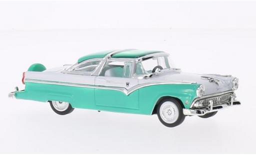 Ford Crown 1/43 Lucky Die Cast Victoria verte/blanche 1955 sans Vitrine miniature