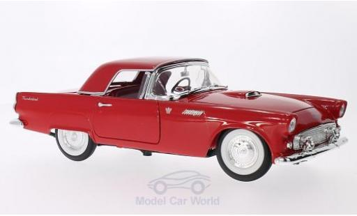 Ford Thunderbird 1955 1/18 Lucky Die Cast rouge miniature