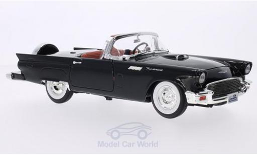 Ford Thunderbird 1/18 Lucky Die Cast black 1957 Hardtop liegt bei diecast model cars
