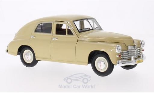 Gaz M20 1/18 Lucky Die Cast GAZ Pobeda beige miniature