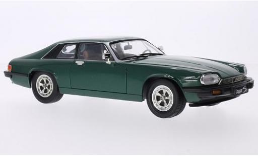 Jaguar XJS 1/18 Lucky Die Cast metallise verte 1975 miniature