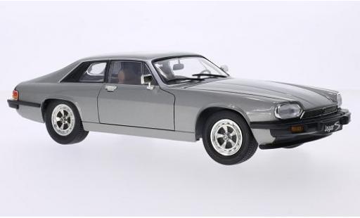 Jaguar XJS 1/18 Lucky Die Cast metallise grise 1975 miniature