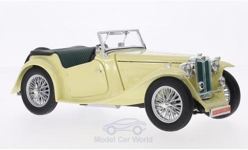 MG TC 1/18 Lucky Die Cast Midget beige RHD 1947 diecast model cars