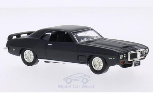 Pontiac Firebird 1/43 Lucky Die Cast Trans Am matt-noire 1969 ohne Vitrine miniature