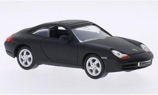Porsche 996 1/43 Lucky Die Cast 911 Carrera  matt-black 1998 sans Vitrine