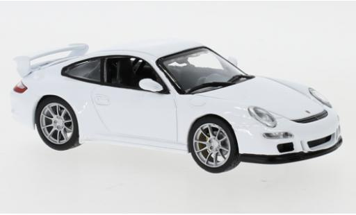Porsche 997 GT3 1/43 Lucky Die Cast 911  white diecast model cars