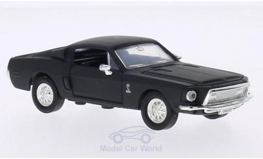 Shelby GT 1/43 Lucky Die Cast -500KR matt-noire 1968 ohne Vitrine miniature