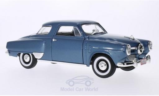 Studebaker Champion 1/18 Lucky Die Cast metallise bleue 1950 miniature