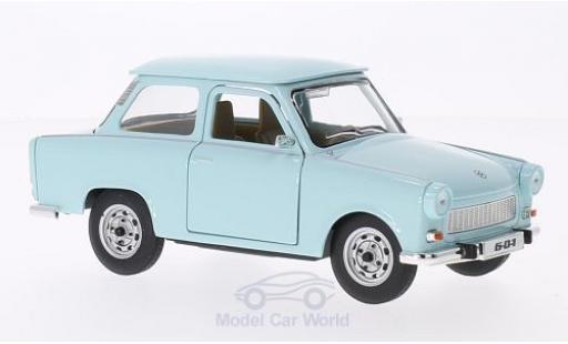 Trabant 601 1/18 Lucky Die Cast bleue miniature
