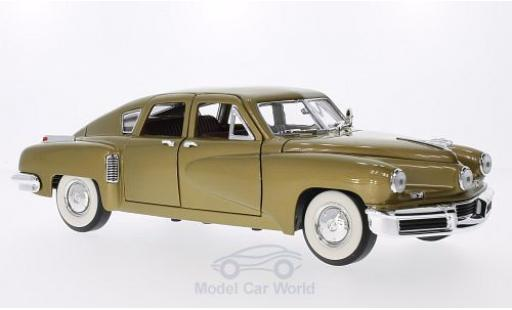 Tucker Torpedo 1/18 Lucky Die Cast gold 1948 miniature