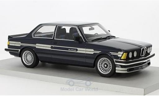 Bmw 323 1/18 Lucky Step Models Alpina C1 2.3 bleue/grise 1983 miniature