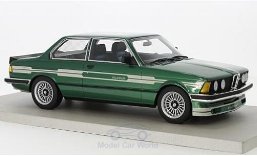 Bmw 323 1/18 Lucky Step Models Alpina C1 2.3 metallise verte/grise 1983 miniature