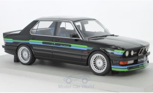 Bmw Alpina 1/18 Lucky Step Models B10 3.5 noire miniature