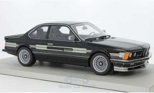 Bmw Alpina 1/18 Lucky Step Models B7 Turbo Coupe noire miniature