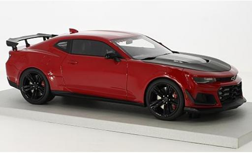 Chevrolet Camaro 1/18 Lucky Step Models ZL1 1LE Hennessey HPE850 rouge miniature