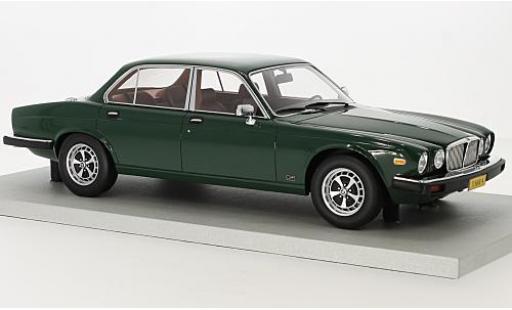 Jaguar XJ 1/18 Lucky Step Models 6 green 1982 diecast model cars