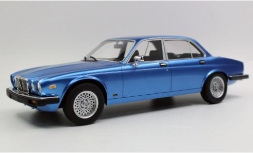 Jaguar XJ 1/18 Lucky Step Models 6 metallise blue 1982