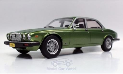 Jaguar XJ 1/18 Lucky Step Models 6 metallise green 1982 diecast model cars