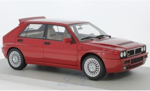 Lancia Delta 1/18 Lucky Step Models Integrale rouge Red Dealers Edition miniature