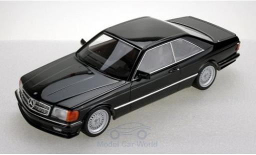 Mercedes 560 1/18 Lucky Step Models SEC (C126) Lorinser black 1987 diecast model cars