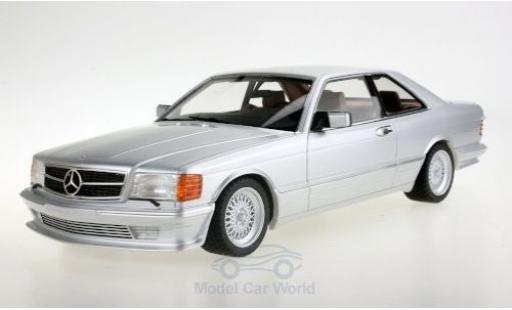 Mercedes 560 1/18 Lucky Step Models SEC (C126) Lorinser grey 1987 diecast model cars