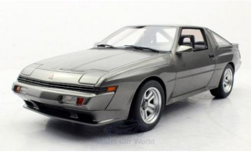 Mitsubishi Starion 1/18 Lucky Step Models metallise grise 1987 miniature