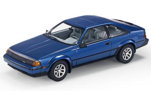 Toyota Celica 1/18 Lucky Step Models GTS Liftback (TA6) metallise blue 1984 diecast model cars