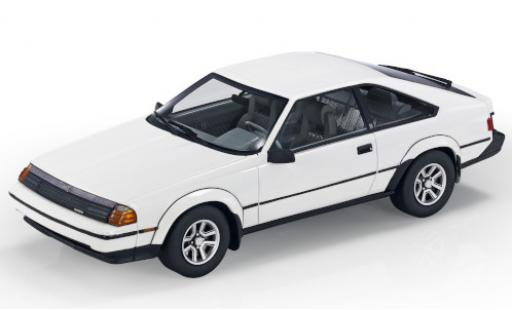 Toyota Celica 1/18 Lucky Step Models GTS Liftback (TA6) blanche 1984