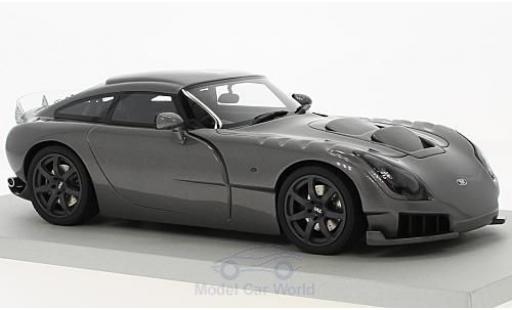 TVR Sagaris 1/18 Lucky Step Models metallise grey RHD 2005 diecast model cars