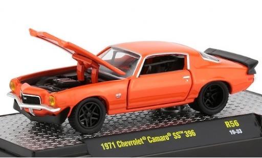 Chevrolet Camaro 1/64 M2 Machines SS 396 orange 1971 diecast model cars