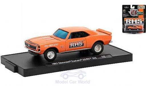 Chevrolet Camaro RS 1/64 M2 Machines  396 metallic-orange Racing Head Service (RHS) 1967 miniature
