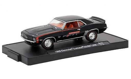Chevrolet Camaro 1/64 M2 Machines SS/RS 396 noire Fifty 1969 voiture-Drivers Release 45 miniature
