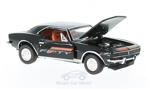 Chevrolet Camaro RS 1/64 M2 Machines  noire/orange 1967 Fifty Years miniature