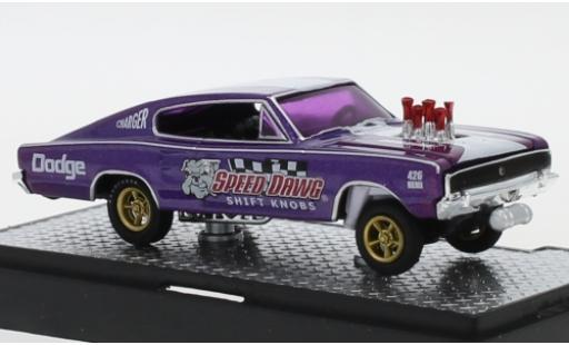 Dodge Charger 1/64 M2 Machines Gasser Speed Dawg 1966 miniature