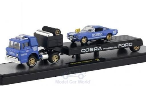 Ford C600 1/64 M2 Machines C-600 Cobra 1966 mit Shelby G.T. 350 miniature