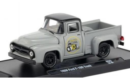 Ford F-1 1/64 M2 Machines 00 grise/noire 1956 miniature