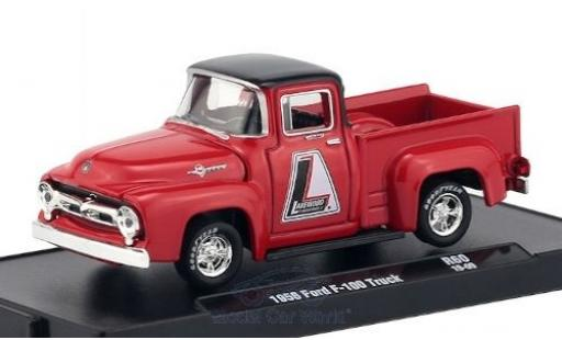 Ford F-1 1/64 M2 Machines 00 rouge/noire Lakewood 1956 miniature