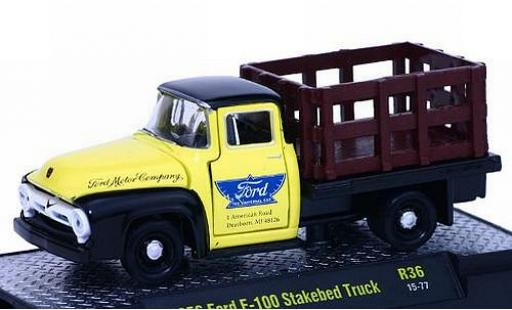 Ford F-1 1/64 M2 Machines 00 Stakebed Truck Motor Company 1956 voiture-Trucks Release 36 modellautos