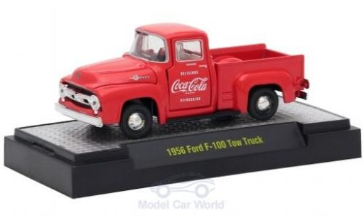 Ford F-1 1/64 M2 Machines 00 Tow Truck rouge Coca Cola 1956