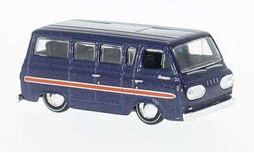 Ford Falcon 1/64 M2 Machines Club Wagon metallise bleue 1965 miniature