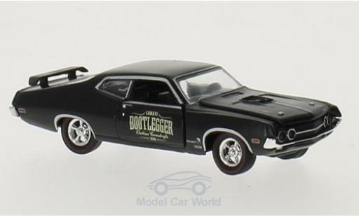 Ford Torino 1/64 M2 Machines Cobra noire Bootlegger 1970 miniature