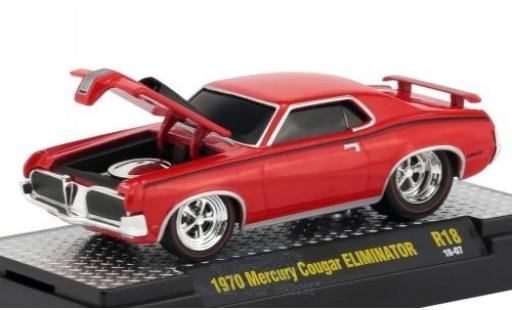Mercury Cougar 1/18 M2 Machines Eliminator rouge/noire 1970 miniature