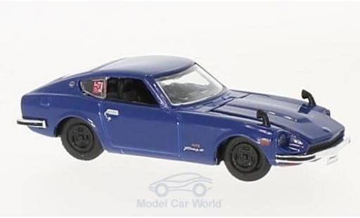 Nissan Fairlady Z Z432 1/64 M2 Machines 432 bleue 1970 miniature