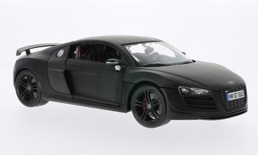 Audi R8 1/18 Maisto GT matt-black diecast model cars